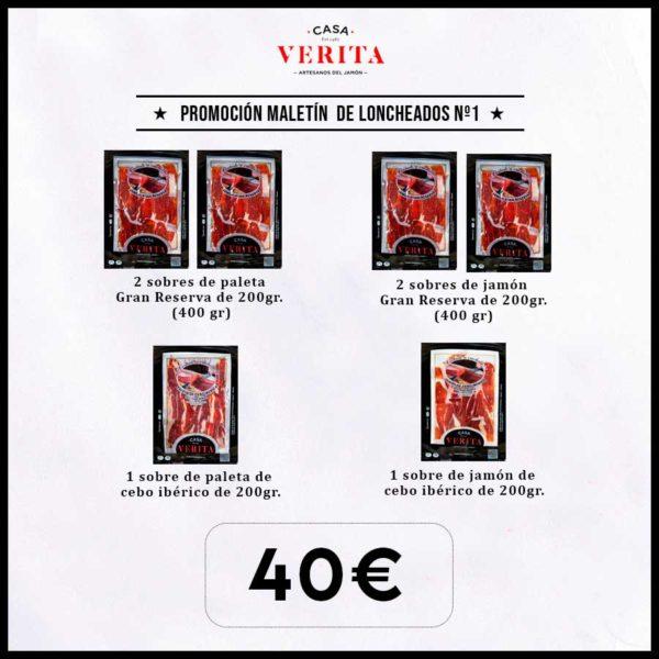 Promoción oferta maletín de loncheados