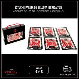 ESTUCHE PALETA DE BELLOTA IBÉRICA
